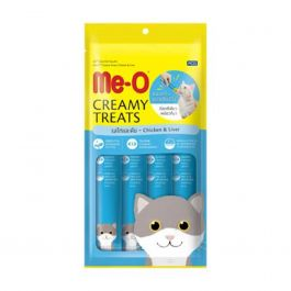 Me-O Creamy Treats Chicken & Liver 60gr