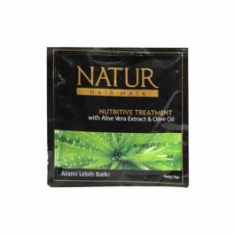 Natur Hair Mask Nutritive Treatment With Aloe Vera Extract & Olive Oil 15 g